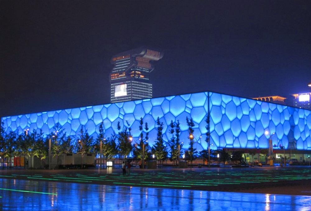 奥运水立方游泳馆1