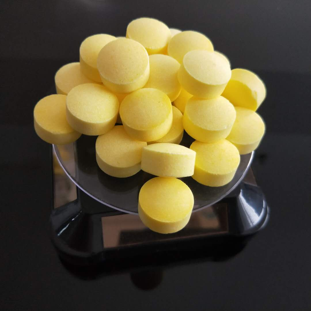 Soft water salt (yellow powder ball)