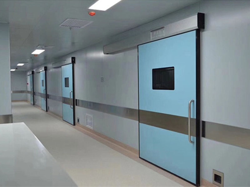 Medical steel door