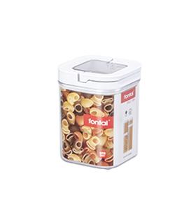 提扣正方形密封罐 1.1L