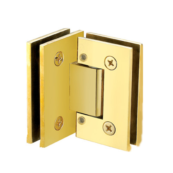 VIENA ADJUSTABLE 90 DEGREE GLASS TO GLASS HINGES
