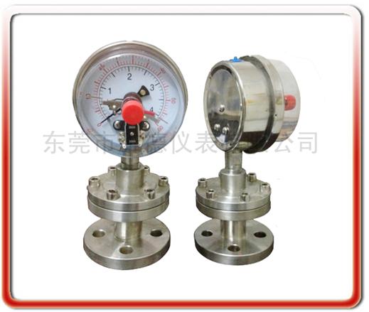 工字型隔膜電接點壓力表