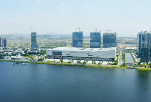 實景視頻,帶您感受福州濱海新城的發展脈動
