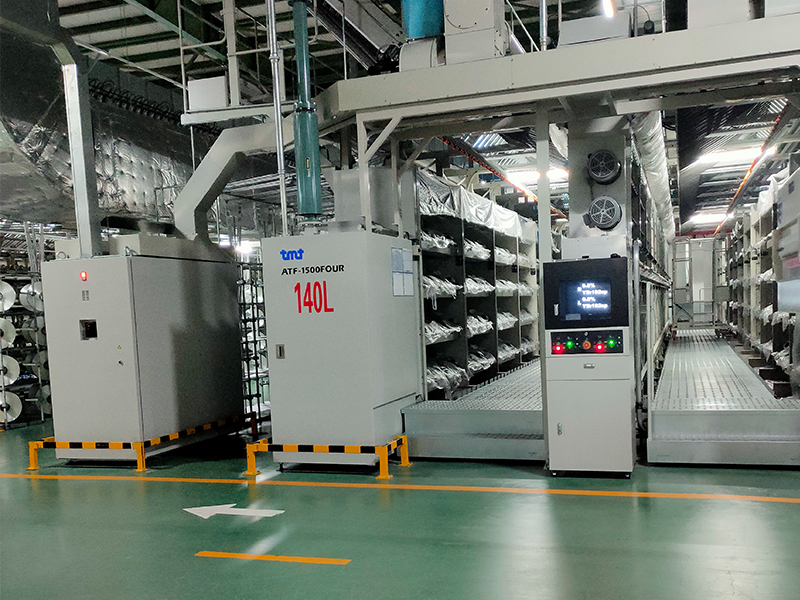 2020年3月起,我司SJ-DTY-10A抗飛濺DTY油劑在亞洲最大的織造企業,行業龍頭恒力集團使用,產品質量獲得了客戶的高度評價