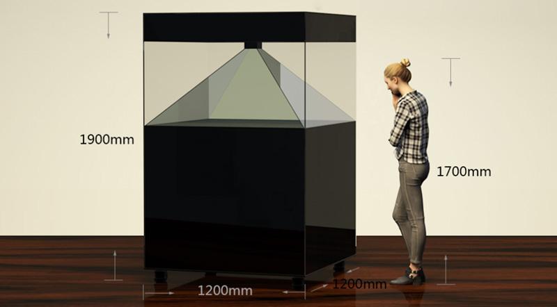 3D全息展示系统
