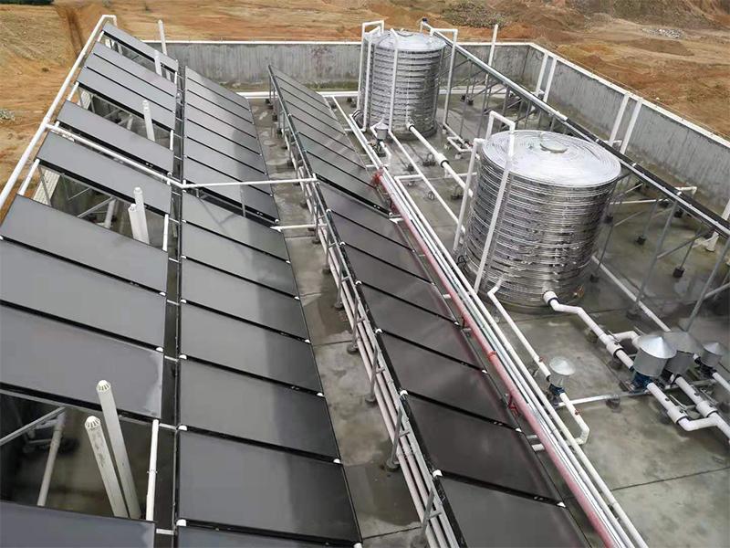 崇熙环保工业园职工宿舍太阳能热水系统