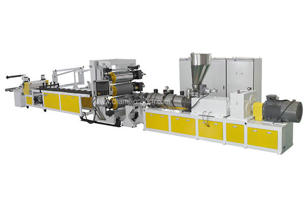 PVC edge banding sheet extrusion line