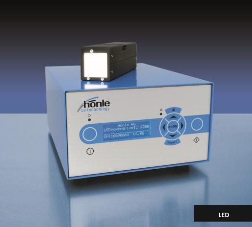 HONLE LED紫外燈源 LED Spot 40 IC