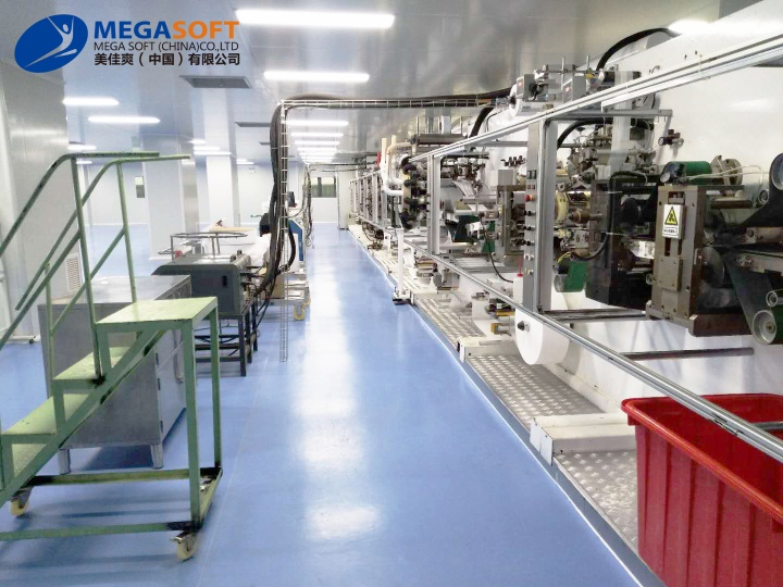 Megasoft (China) Co., Ltd Invested 100,000-level dust-free Workshop to Produce Daily Protective Masks