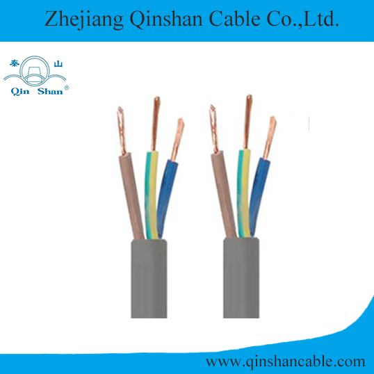 3 core Stranded Copper Conductor PVC Insulated and Sheathed Flexible Flat Electrical Cable