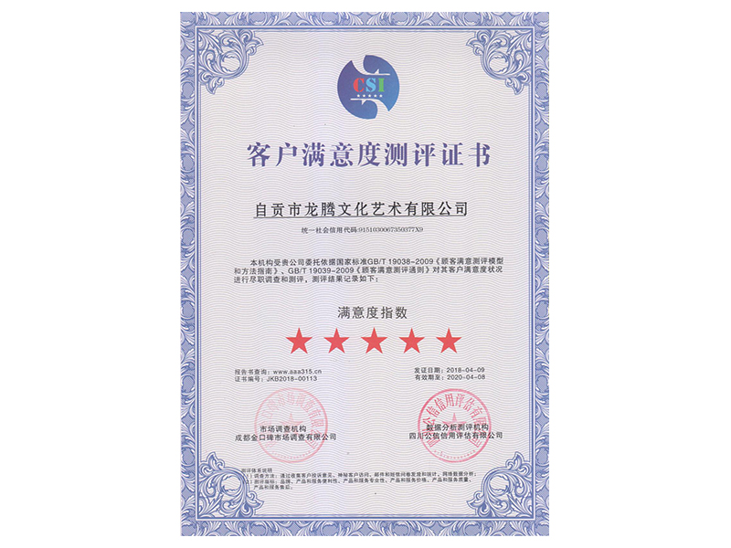 2018 Customer Satisfaction Review Book Chinese Edition