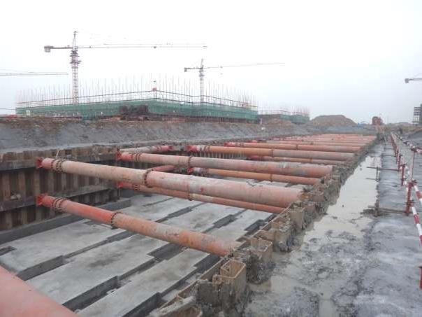 中煙寧波煙廠深基坑支護設計