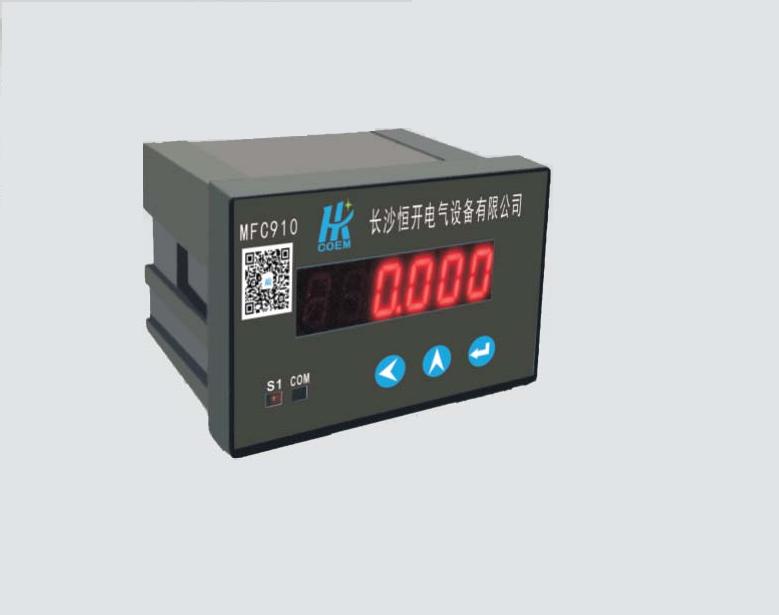 MFC910系列单相可编程数字仪表型号列表