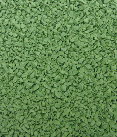 Apple green EPDM GRANULES