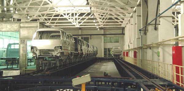 河北长安8万辆微车涂装生产线