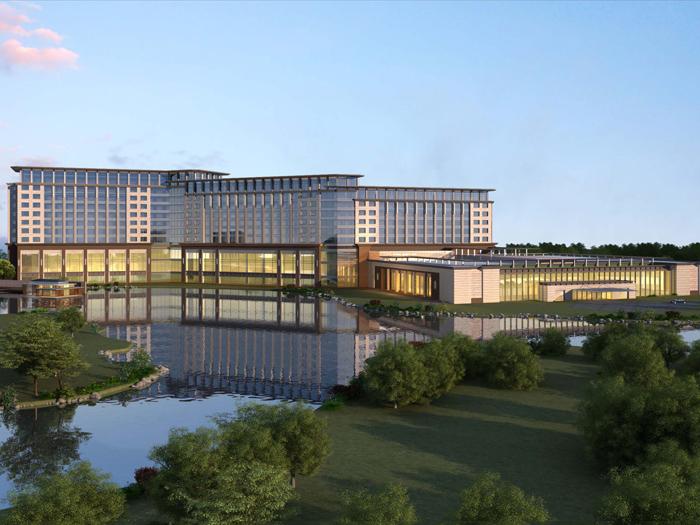 南通洲际酒店4#楼工程
