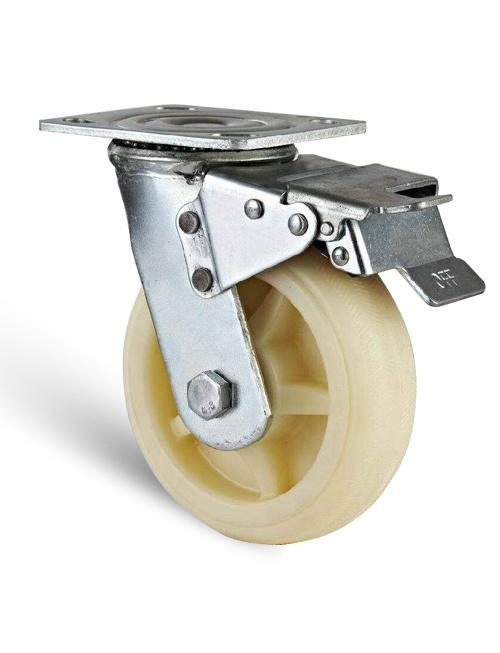 帶方向鎖減震腳輪