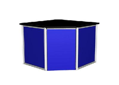 鋁木結構角臺