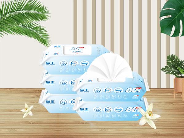 宝宝加湿型80片手口湿巾 (MSJ-01)
