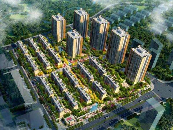中國摩(重慶)項目香山花園公區裝修工程