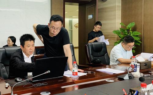 公司領導調研貴州新蒲片區工程項目