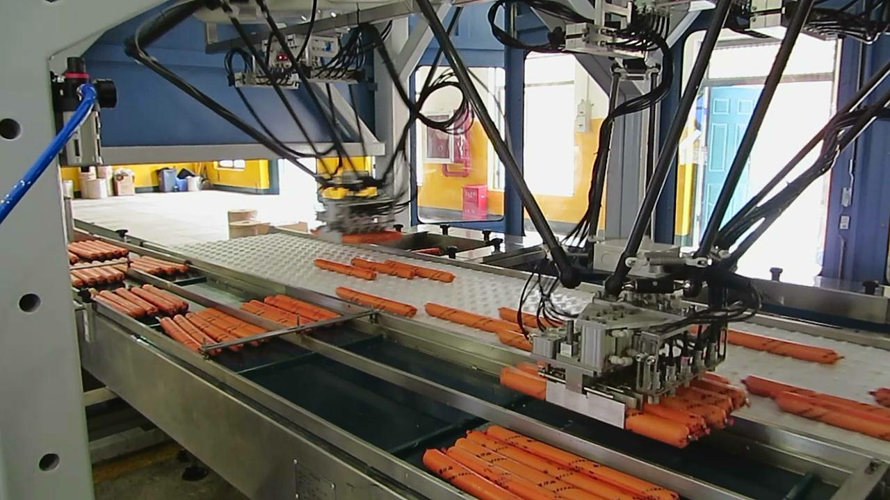 MGEPL-R機器人工業炸藥智能化自動包裝線