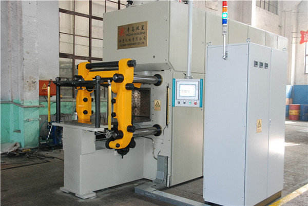 Vertical molding production line