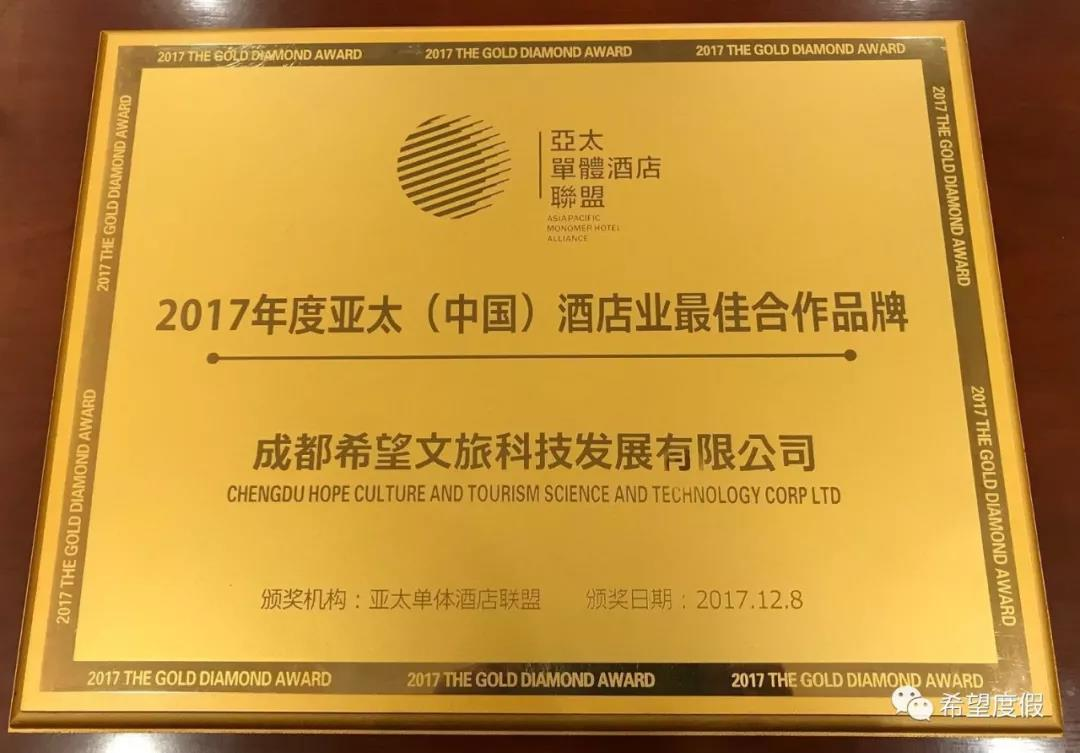 HCI won the honor at the 2017AIH Conference.