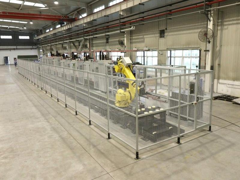 機器人自動化生產線