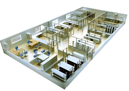 YT80000372 实验室规划布局