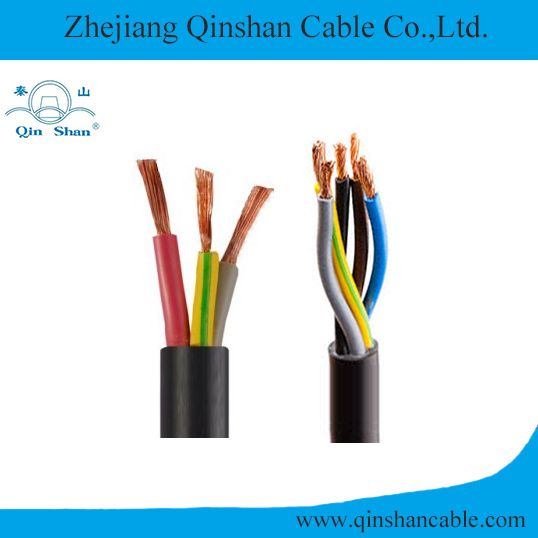 Copper Core PVC Insulated and Sheathed Flexible Electrical Cable