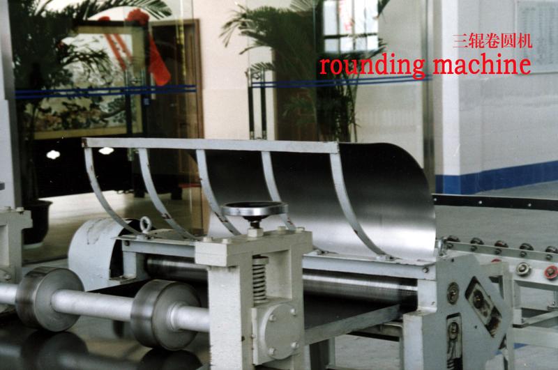011 卷圆机 rounding machine--
