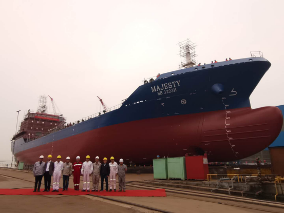 8500DWT Bunkering Tanker Launched by DYOE