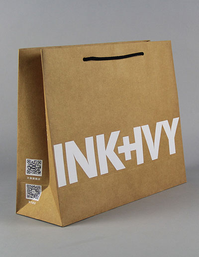 INK+IVY Creative Kraft Carton Customized clothing bag