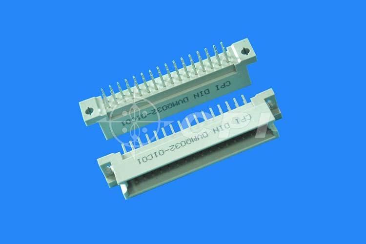 Q型公座180°32 pin連接器
