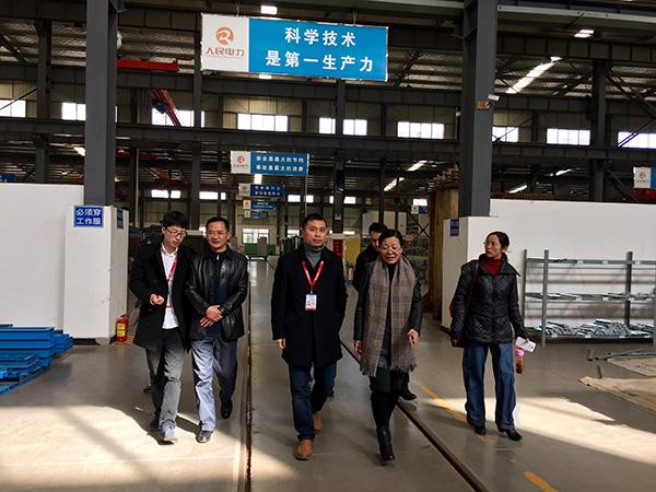 云南省機械工業行業協會領導來公司參觀指導