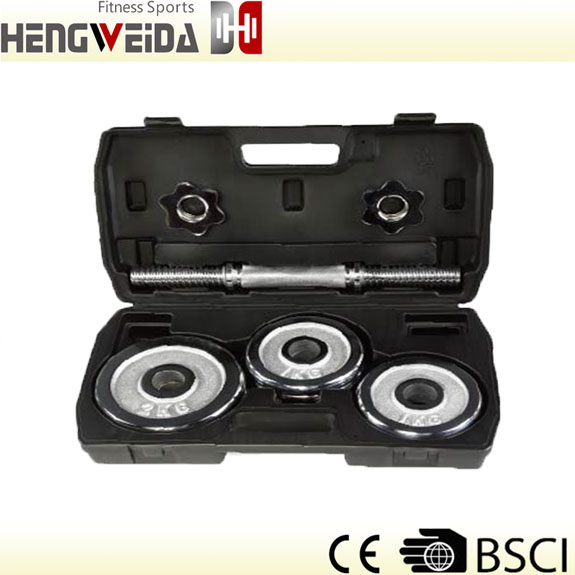 HWD3208-10KGS Chromed Dumbbell Set