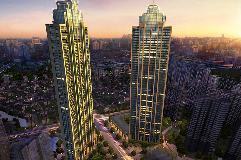 2019年魯班獎工程——南通二建集團承建的蘇州雅戈爾太陽城超高層