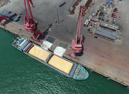 葫蘆島港歷史上被譽為天然良港