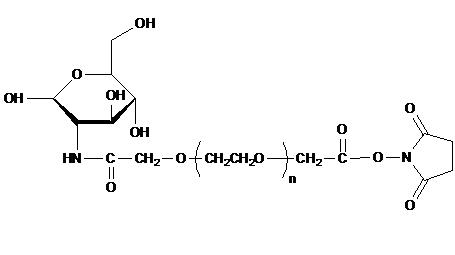 Glucose PEG Succinimidyl Carboxymethyl Ester