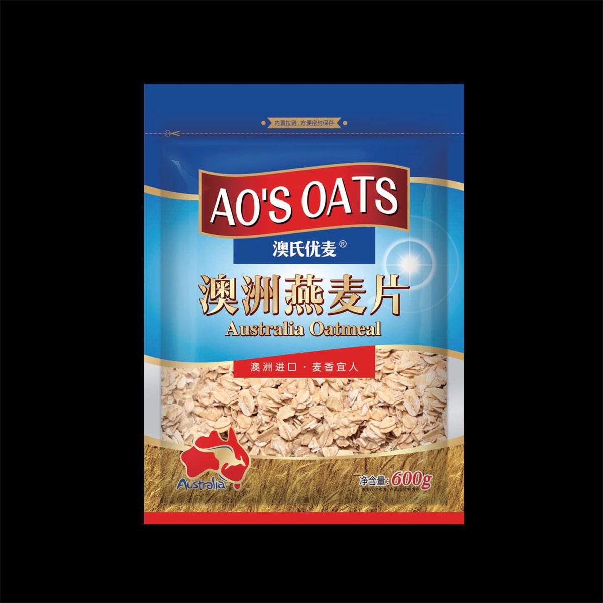 澳洲燕麥片( 原味)600g袋裝