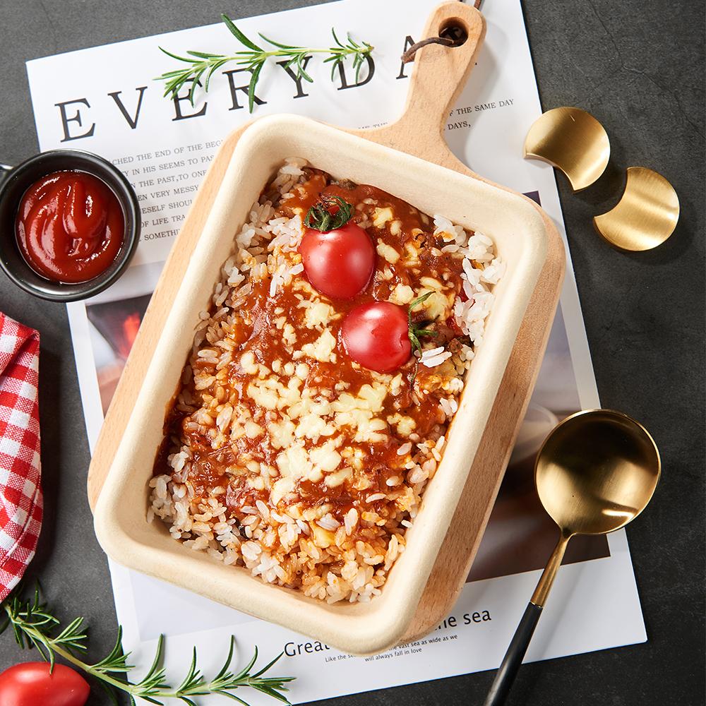 番茄蘑菇芝士焗饭