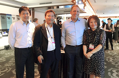 With Micron Global Sales President & Asia Sales VP
