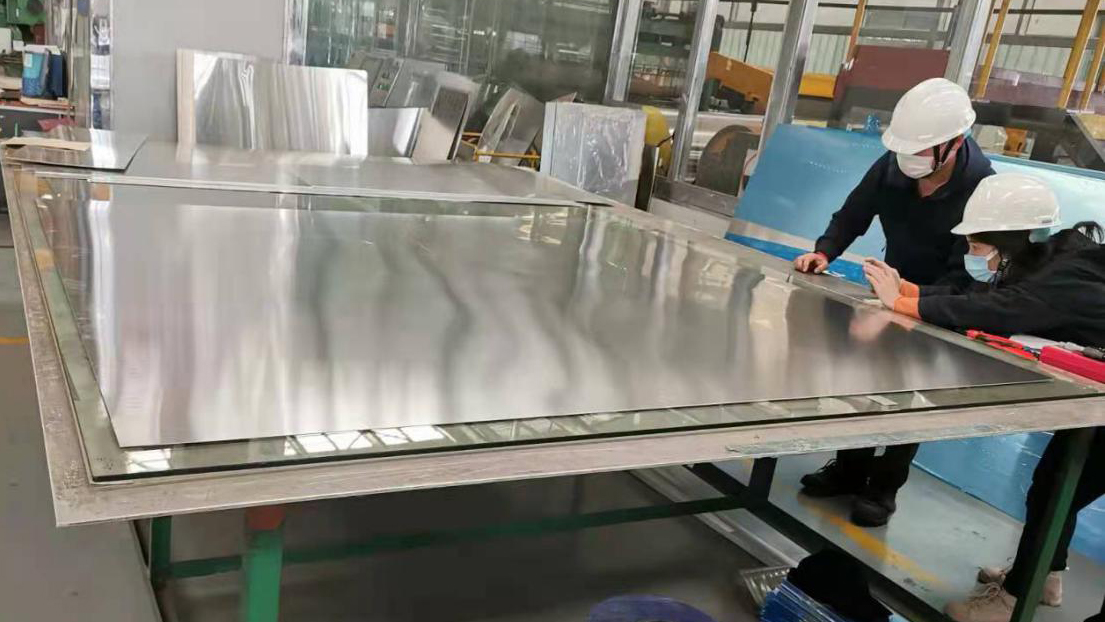 Liuzhou Yinhai Aluminum achieves a new breakthrough in the quality of 5 series aluminum alloy wide-width cold-rolled sheet
