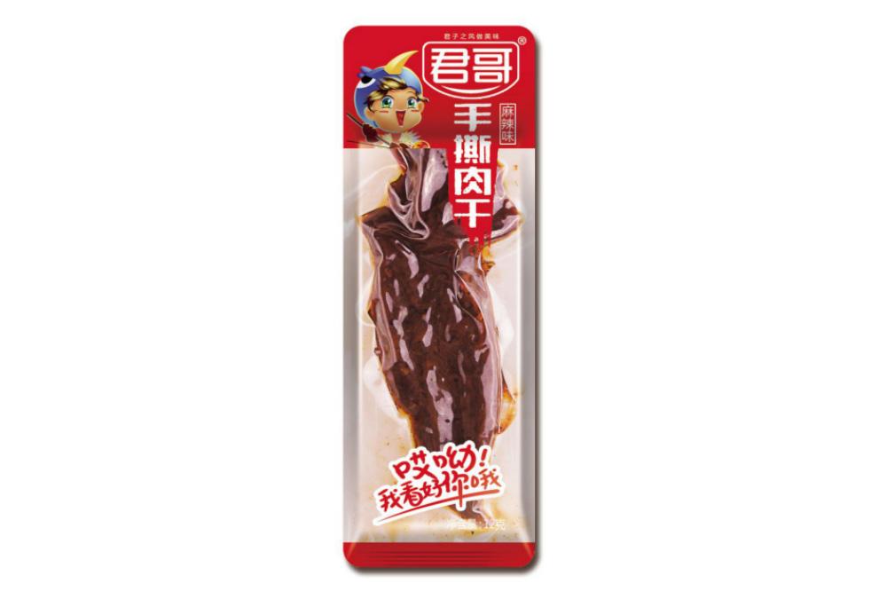 麻辣味手撕牛肉12g