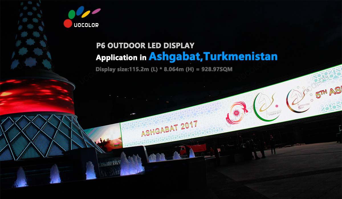 UOCOLOR outdoor P6 LED display