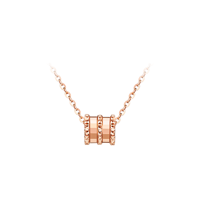 Rose gold small waist set chain