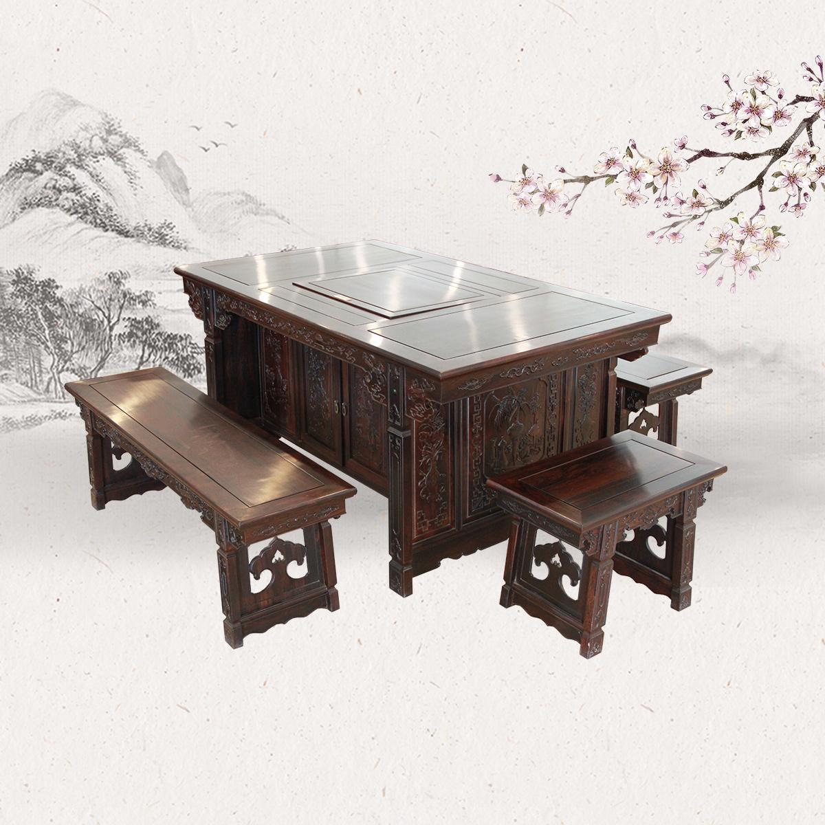 古典板凳茶台