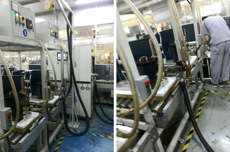 T5H serves Chongqing Haier Air Conditioner