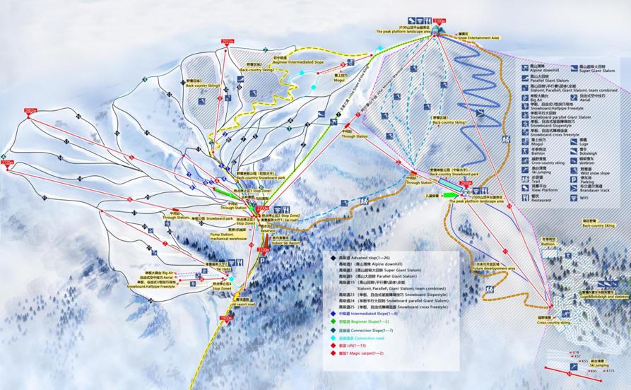 阿爾泰山可可托海國際滑雪場